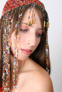 Bellydancing Teen Royalty Free Stock Photos