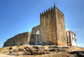 Belmonte castle old medieval in portugal Stock Images