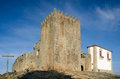 Belmonte castle portugal built th century Royalty Free Stock Photo