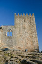 Belmonte castle in portugal built in the th century Stock Photos