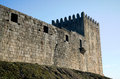 Belmonte castle in portugal built the th century Royalty Free Stock Photo