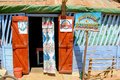 Belo sur tsiribihina front of a rustic restaurant on sept in the typical village of western madagascar Royalty Free Stock Photography