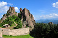 Belogradchik fortress in Bulgaria Royalty Free Stock Images