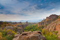 Belogradchik Rocks Royalty Free Stock Photo