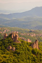 Belogradchik Rocks Vista Royalty Free Stock Photography