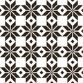 Belorussian sacred ethnic ornament seamless pattern vector illustration slovenian traditional pattern ornament black background Stock Photography