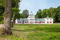 Belorussian tourist attraction oginski palace in grodno region Royalty Free Stock Photo