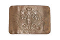 Belt buckle the of the russian imperial army Royalty Free Stock Image