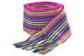 Belt colored threads woven Stock Photography