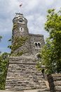 Belvedere Castle - Central Park  NYC Royalty Free Stock Photo