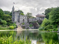 The Belvedere Castle at New York Central Park Royalty Free Stock Photo
