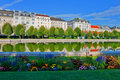 Belvedere garden in Vienna, Austria Stock Photography