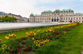 Belvedere palace Vienna Austria Royalty Free Stock Photos