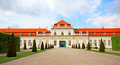 Belvedere Palace in Vienna Royalty Free Stock Photo