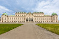 Belvedere palace in wien austria Royalty Free Stock Photography