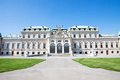 Belvedere palace wien austria esterior of Stock Photography