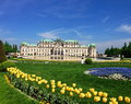 The Belvedere Vienna Royalty Free Stock Photo