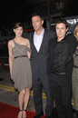 Ben Affleck, Casey Affleck, Michelle Monaghan Stock Photos