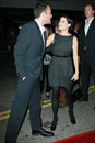 Ben affleck neve campbell and at the premiere of gone baby gone mann bruin theatre westwood ca Royalty Free Stock Image