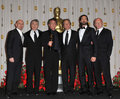 Ben Kingsley, Anthony Hopkins, Adrien Brody, Michael Douglas, Robert De Niro, Sean Penn Stock Image