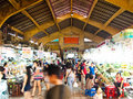 Ben Thanh market in Ho Chi Minh City, Vietnam Royalty Free Stock Image