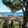 Benalmadena andalusia spain costa del sol malaga province Royalty Free Stock Photo