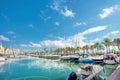 Benalmadena marina. Costa del Sol, Malaga province, Andalusia, S Royalty Free Stock Photo