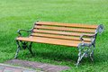 Bench. Stock Image