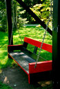 Bench swing Stock Image