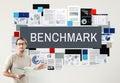 Benchmark Development Improvement Efficiency Concept Royalty Free Stock Photo