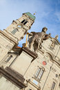 Benedictine abbey of Einsiedeln Stock Images