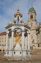 Benedictine abbey of Einsiedeln Royalty Free Stock Image