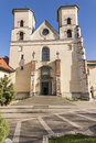 Benedictine abbey in tyniec st peter and paul church of krakow famous polish landmark Royalty Free Stock Images