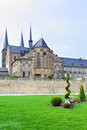 Benedictine monastery in bamberg former bavaria germany Stock Image