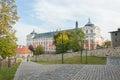 Benedictine Monastery in Broumov, the Baroque era Royalty Free Stock Photo