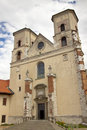 Benedictine monastery -  Tyniec, Poland. Royalty Free Stock Photography