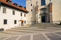Benedictine monastery in tyniec poland Stock Photos