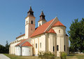 Benedictine roman catholic monastic church of the virgin mary in deaki diakovce slovakia it is famous for its interior a two Stock Photos