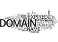 Benefit Of Expired Domains Word Cloud