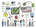Benefits Gain Profit Earning Income Business Technology Concept Royalty Free Stock Photo