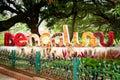 Photo : Bengaluru sign, India radha  talegoan