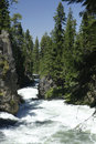 Benham falls on the deschutes river in central oregon Stock Photography