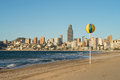 Benidorm beach resort Royalty Free Stock Photography