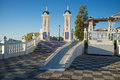 Benidorm landmark park bendiorm andalusian style in its old town Royalty Free Stock Photo
