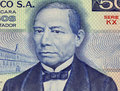 Benito Juarez Royalty Free Stock Photography