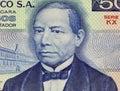 Benito Juarez Royalty Free Stock Photo