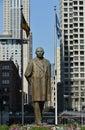Benito Juarez Statue Royalty Free Stock Photo