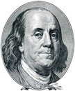 Benjamin Franklin Stockfoto