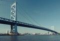 Benjamin Franklin Bridge. Phil...