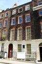Benjamin Franklin's Huis Royalty-vrije Stock Fotografie
